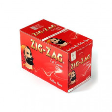 100 Zig-Zag Red Regular Size Rolling Papers