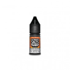 10MG Ultimate Puff Salts Chilled 10ML Flavoured Nic Salts (50VG/50PG) - Flavour: Mango
