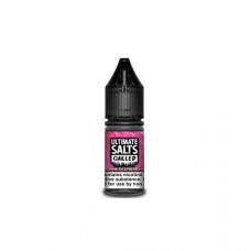 10MG Ultimate Puff Salts Chilled 10ML Flavoured Nic Salts (50VG/50PG) - Flavour: Pink Raspberry