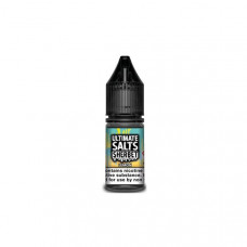 10MG Ultimate Puff Salts Sherbet 10ML Flavoured Nic Salts (50VG/50PG) - Flavour: Lemon