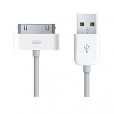 1m 30Pin iPhone USB Power Adaptor Cable