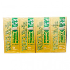 20 Pack Rizla Bamboo Ultra Slim Filter Tips