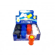 12 x 4 Parts Mini Plastic Grinder With Storage Container - 11664