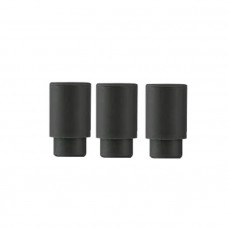 100 x Disposable Rubber 510(Black)Drip Tips
