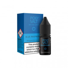 11mg Pod Salt - Flavoured 10ml Nicotine Salt (50VG/50PG) - Flavour: Blueberry Raspberry
