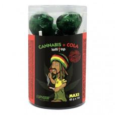 Euphoria Cannabis + Cola Maxi Lollipops 25g x 10pcs  (Approx)