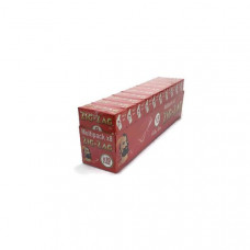 10 Pack x 8 Booklet Zig-Zag Red Regular Size Rolling Papers