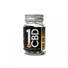 1CBD Soft Gel Capsules 25mg CBD 60 Capsules