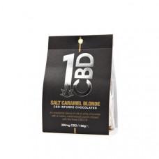 1CBD CBD infused Chocolate 300mg CBD 100g - Flavour: Salt Caramel Blonde