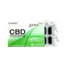 Canabidol 500mg CBD Gel-Tabs 10 Capsules