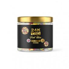 24K 1500mg CBD Premium Gummies - Flavour: Fruit Slices