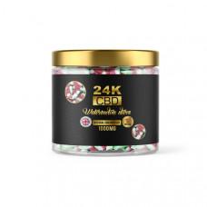 24K 1000mg CBD Premium Gummies - Flavour: Watermelon Slices