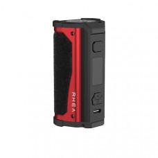 Aspire Rhea Mod - Color: Black Alcantara(Red Metal)