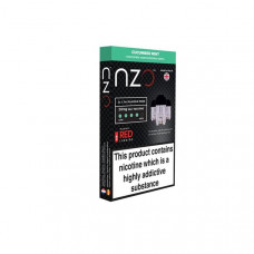 NZO 20mg Salt Cartridges with Red Liquids Nic Salt (50VG/50PG) - Flavour: Cucumber