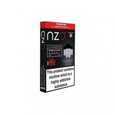 NZO 10mg Salt Cartridges with Red Liquids Nic Salt (50VG/50PG) - Flavour: The Red One