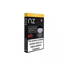 NZO 10mg Salt Cartridges with Red Liquids Nic Salt (50VG/50PG) - Flavour: Ice Mango