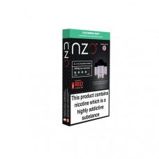 NZO 10mg Salt Cartridges with Red Liquids Nic Salt (50VG/50PG) - Flavour: Cucumber