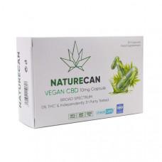 Naturecan 10mg Vegan CBD Capsules - 30 Caps