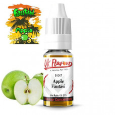 10 x 10ml  UK Flavour Fantasi Range Concentrate 0mg  (Mix Ratio 15-20%) - Flavour: Fantasi Apple