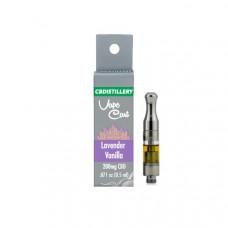 CBDistillery 200mg CBD Vape Cartridges - Flavour: Lavender & Vanilla