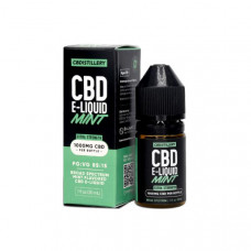 CBDistillery 1000mg CBD E-Liquid 30ml (85VG/15PG) - Flavour: Mint