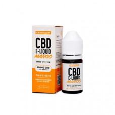 CBDistillery 500mg CBD E-Liquid 30ml (85VG/15PG) - Flavour: Mango