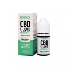 CBDistillery 500mg CBD E-Liquid 30ml (85VG/15PG) - Flavour: Mint