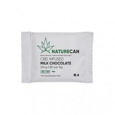 Naturecan 20mg CBD Infused Milk Chocolate 10g