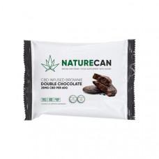 Naturecan 25mg CBD Double Chocolate Brownie 60g - Option: X 1