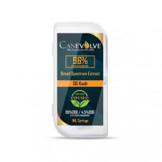 Canevolve 96% CBD Broad Specrum Cannabis Extract Syringe 1ml - Flavour: OG Kush