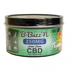 B-BuzzN Herbal Full Spectrum CBD Herbal Shisha 250mg CBD - Flavour: Tropical Fruits