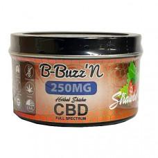 B-BuzzN Herbal Full Spectrum CBD Herbal Shisha 250mg CBD - Flavour: Strawberry