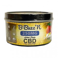 B-BuzzN Herbal Full Spectrum CBD Herbal Shisha 250mg CBD - Flavour: Mango
