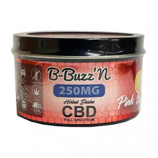 B-BuzzN Herbal Full Spectrum CBD Herbal Shisha 250mg CBD - Flavour: Pink Lemonade