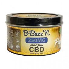 B-BuzzN Herbal Full Spectrum CBD Herbal Shisha 250mg CBD - Flavour: Pineapple