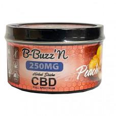 B-BuzzN Herbal Full Spectrum CBD Herbal Shisha 250mg CBD - Flavour: Peach