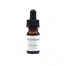 Naturecan 2.5% 250mg CBD Broad Spectrum MCT Oil 10ml
