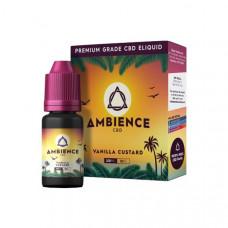 Ambience CBD Eliquids 100mg CBD 10ml - Flavour: Vanilla Custard