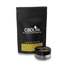 CBDLife 95% CBD Terpene Infused Isolate 0.5g - Flavour: Banana Kush