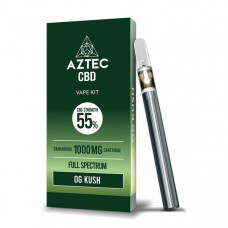 Aztec CBD 1000mg Vape Kit - 1ml - Flavour: OG Kush
