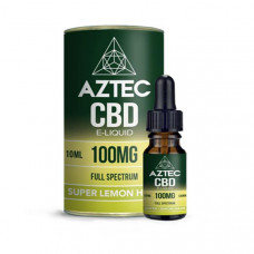 Aztec CBD 100mg CBD Vaping Liquid 10ml (50PG/50VG) - Flavour: Super Lemon Haze