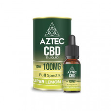 Aztec CBD 100mg CBD Vaping Liquid 10ml (50PG/50VG) - Flavour: Sweet Strawberry