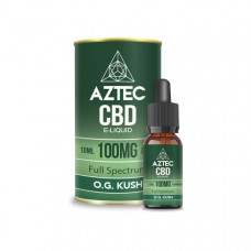 Aztec CBD 100mg CBD Vaping Liquid 10ml (50PG/50VG) - Flavour: Ice Mint