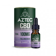 Aztec CBD 100mg CBD Vaping Liquid 10ml (50PG/50VG) - Flavour: Grand Daddy Purple