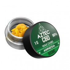 Aztec CBD 900mg CBD Wax/Crumble - 1g - Flavour: Amnesia