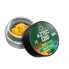 Aztec CBD 900mg CBD Wax/Crumble - 1g - Flavour: Zkittlez
