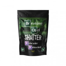 Breaking CBD 98% CBD Shatter - 1g - Flavour: Schrader Reloaded