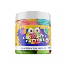 Orange County 1200mg CBD Gummy Buttons - Small Pack