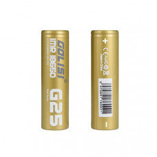 Golisi G25 18650 Battery 2500mAh 20A