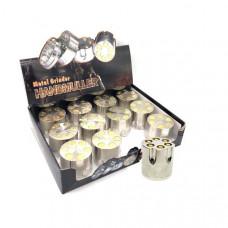 12 x 3 Parts Handmuller Silver Bullet Metal 40mm Grinder - HX240